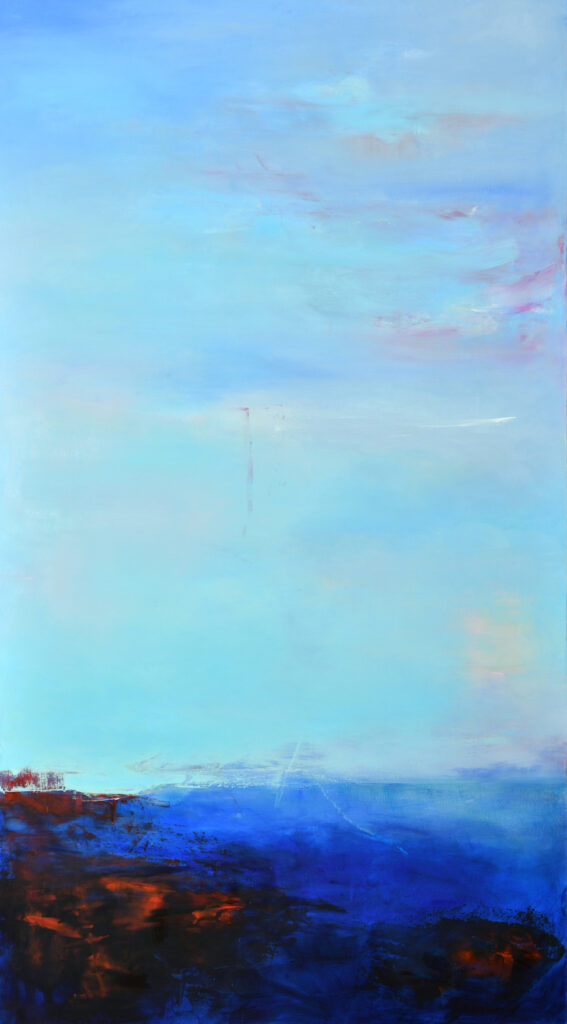 ultramarine, turquoise, high arctic, fluid abstraction, atmospheric