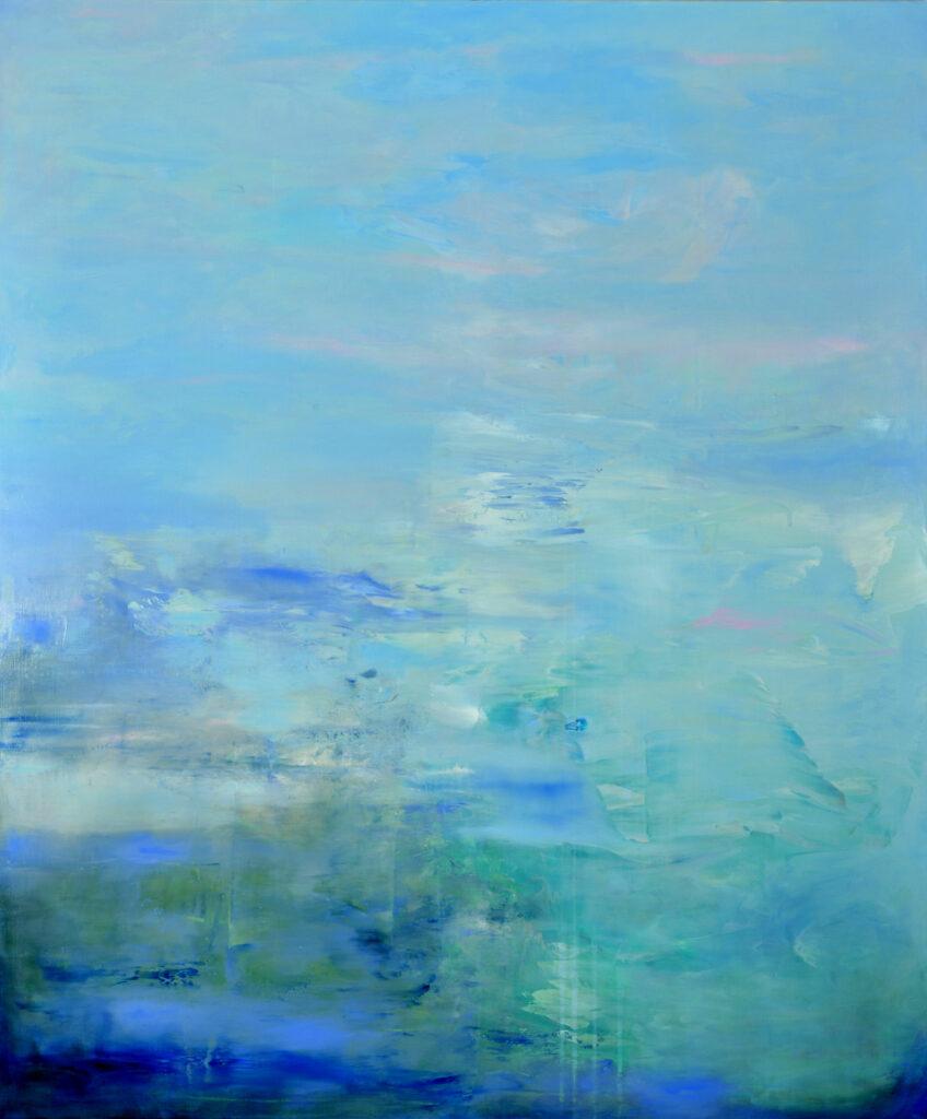 fluid, blue, ultramarine, abstract, Arctic